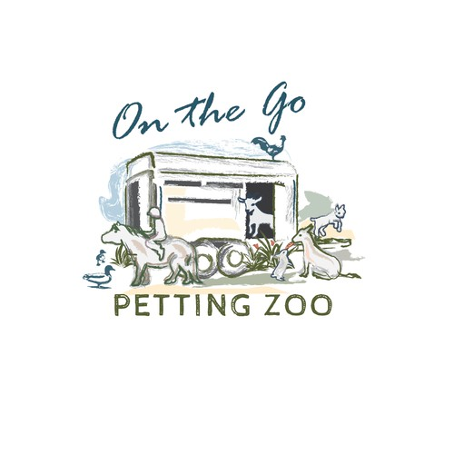 On the Go petting zoo