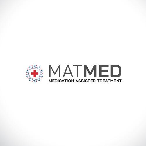 Logo concept for medical treatment