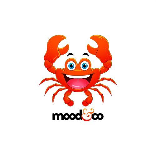 Mood & Co Crab Mascot
