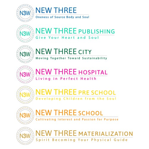 concept for NEW THREE UNIVERSITY