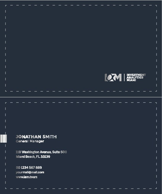 We're Not Your Average Hedge Fund! Now we need new business cards and letterhead!
