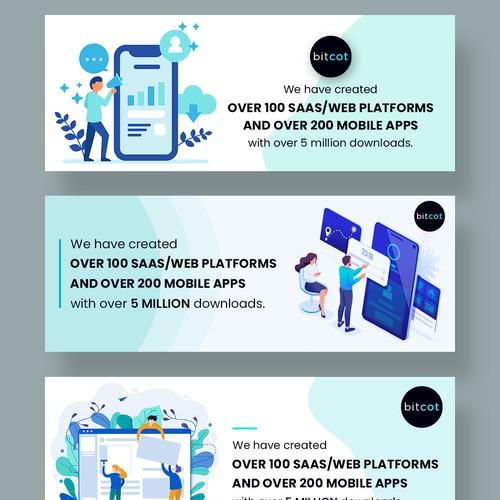 Facebook Cover design for apps development company.