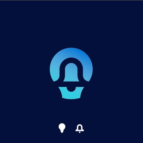 Lightbulb + Bell Logo Concept