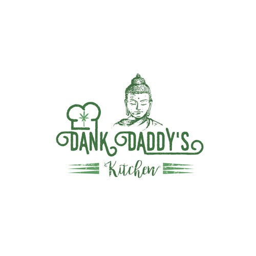 Logo concept for Dank daddy's kitchen