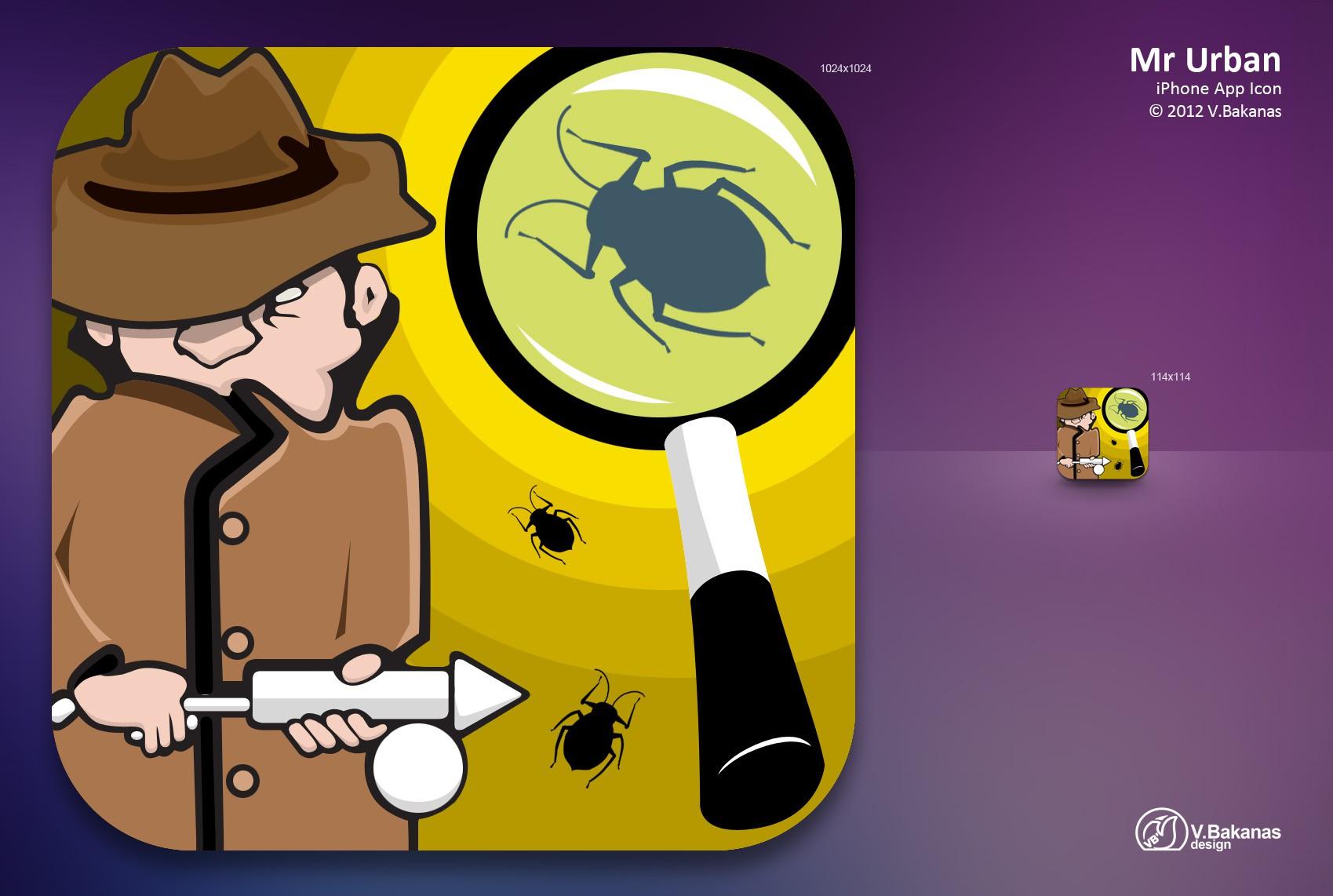 Suburban Exterminating needs a new icon or button design