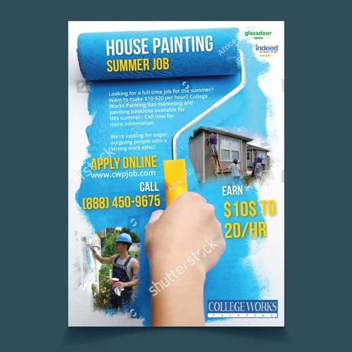 Painter Job Poster