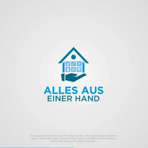 Bold Logo for Mortgage company