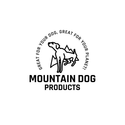 Logo for recycled rope dog leashes.