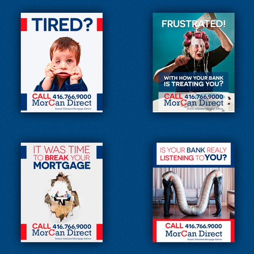 Mortgage Business Signage Design