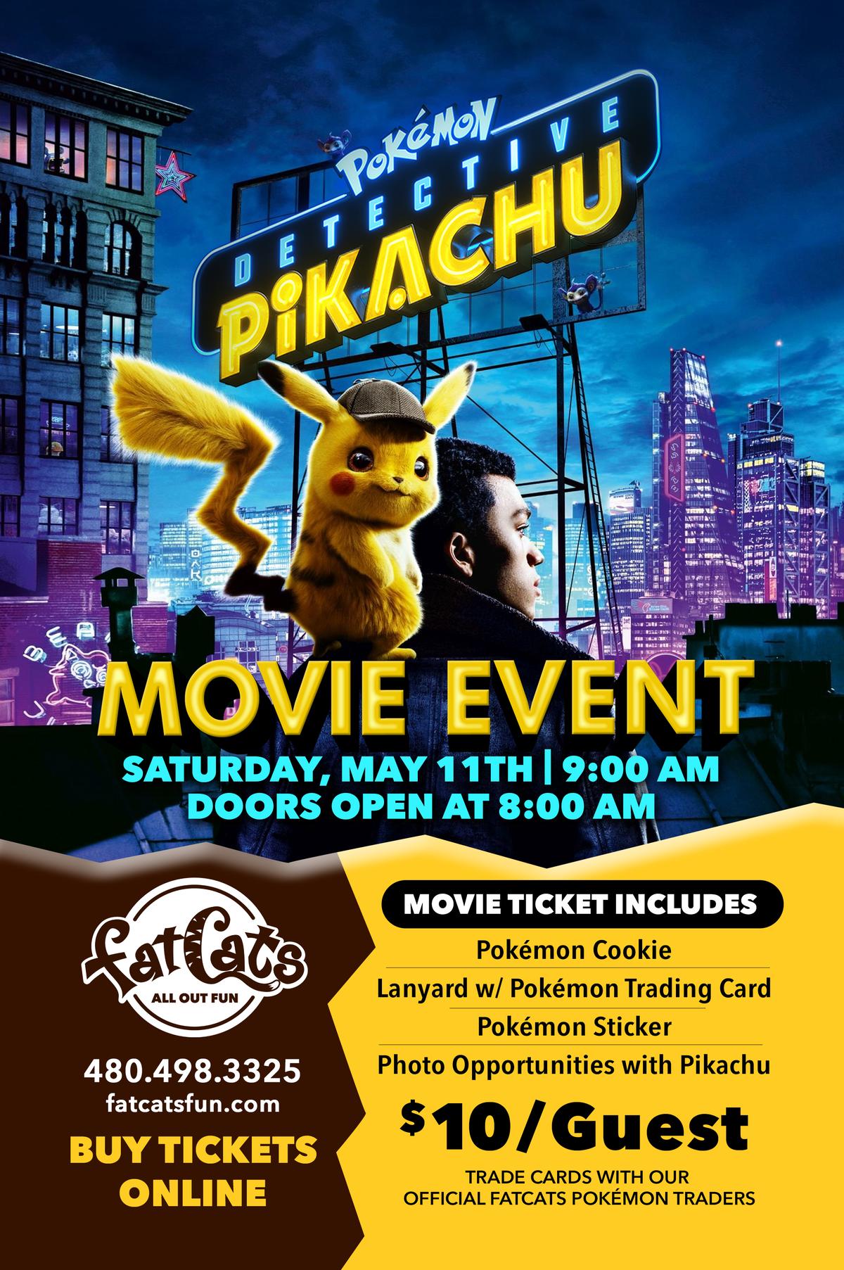 Pokemon: Detective Pikachu Movie Event Poster