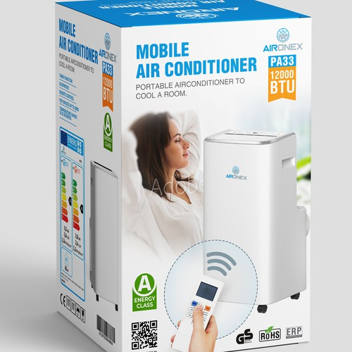 portable air conditioner Packaging
