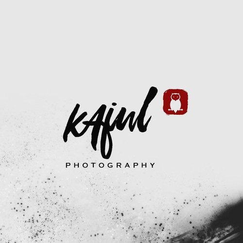 photogaphy logo for kajul photography