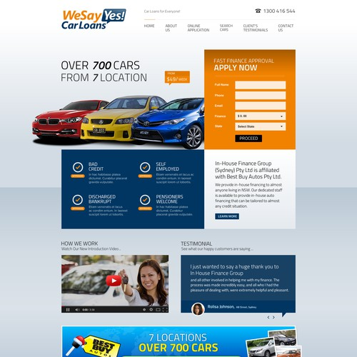 Car Loan Website
