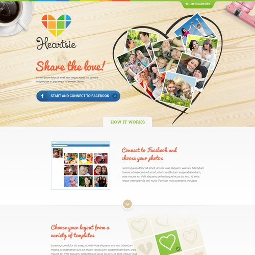 My Heartsie Web Design