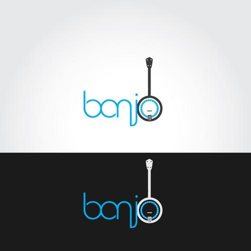 Design a clean, modern logo for Banjo - a VR/AR agency