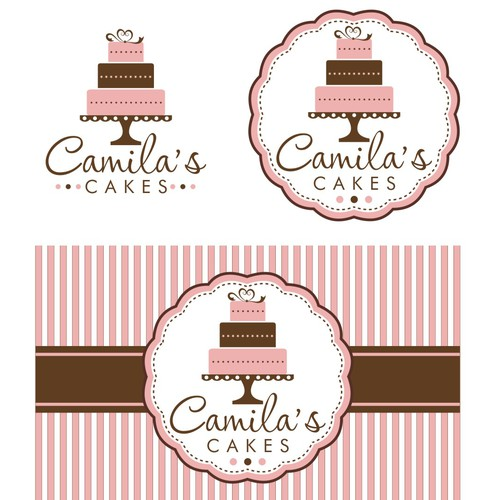 Help Camila's Cakes with a new logo