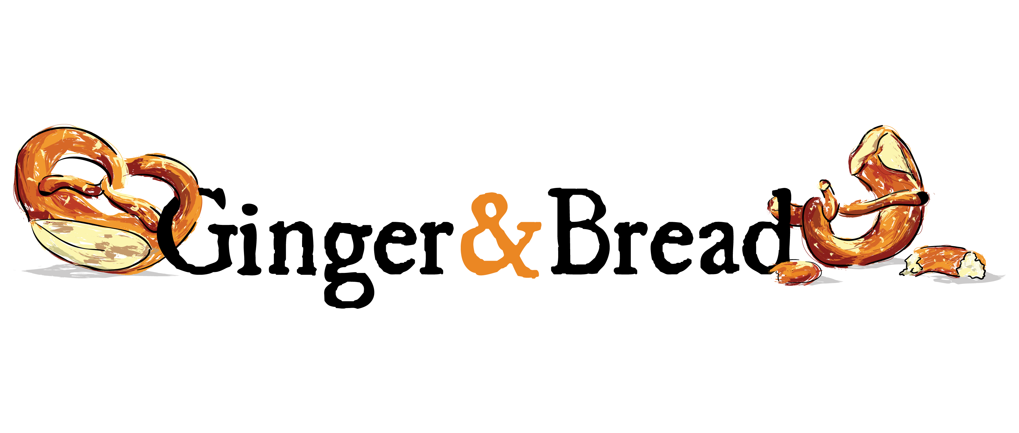 Create a modern logo for a baking blog, reflecting its focus on Continental breads and patisserie.