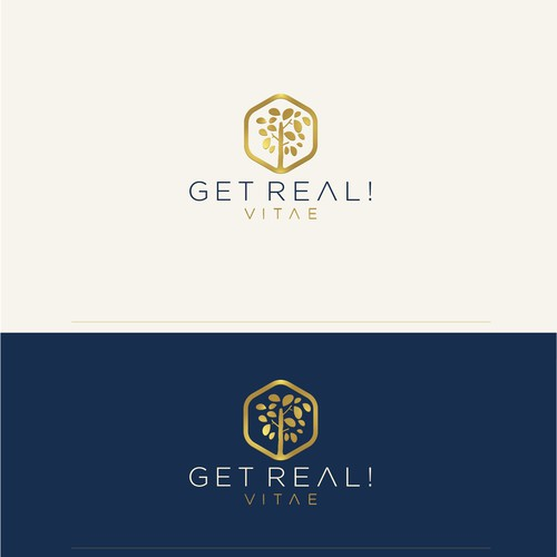 Logo concept for healt & beauty products.