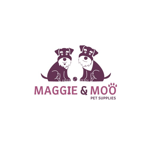 Logo design for a pet supply company