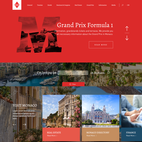 Website for Monaco/ Monte Carlo