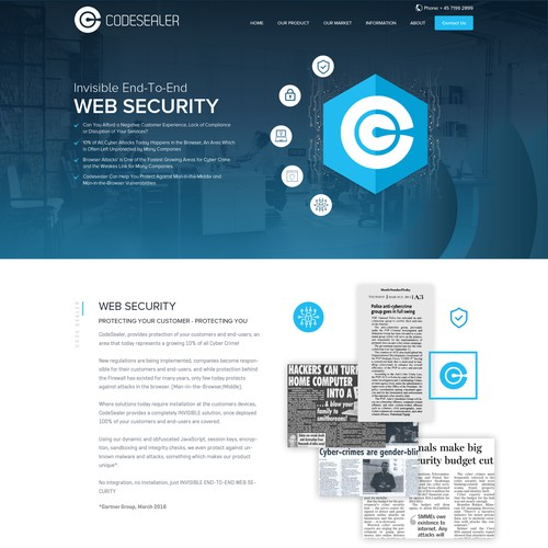 Web Security Creative Design