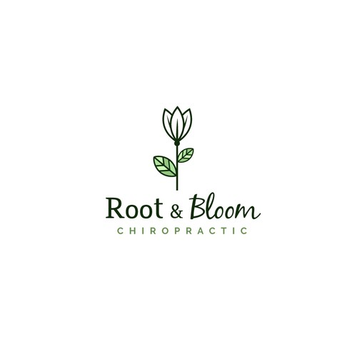 Logo for Root & Blossom chiropratic