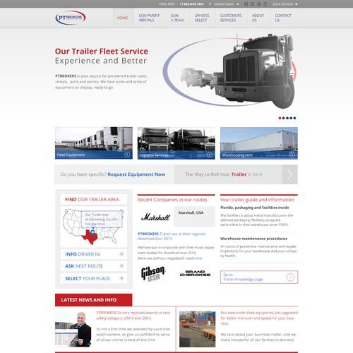 PT Brokers needs a new website design