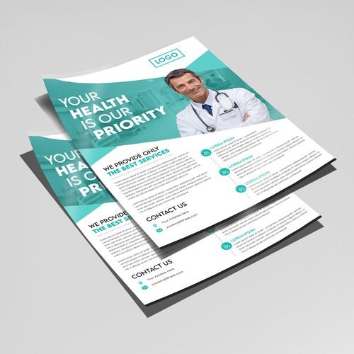 Flyer Design for hospital