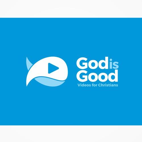 "LOGO DESIGN:  ""God is Good"" - design a logo for a Christian Video App!"