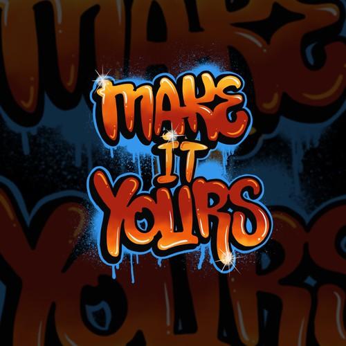 Graffity font logo