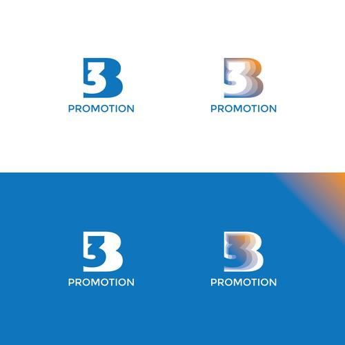 3B promotion logo design