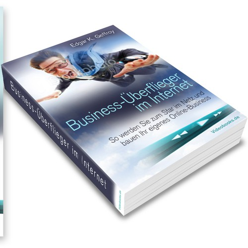Create the next video book cover for business author and speaker