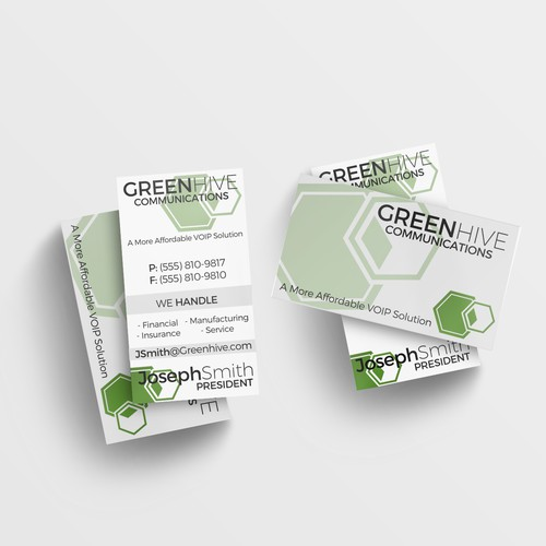 Greenhive Communications Business Card