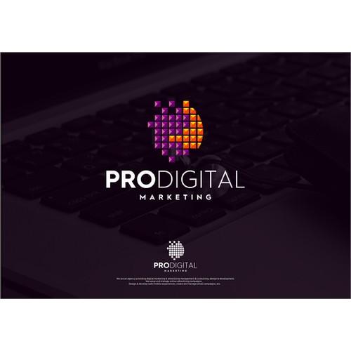 Awesome logo needed / Pro Digital Marketing / Online advertising agency