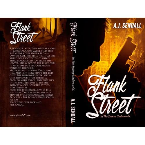 Australian crime novel set in the 90's needs moody, criminal noir'esque cover design