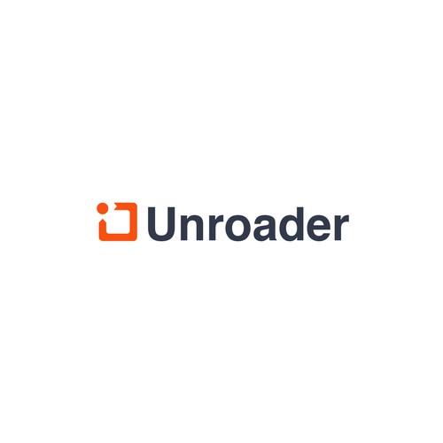 Unroader Logo Design