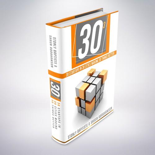 Create book cover for tech entreprenuer