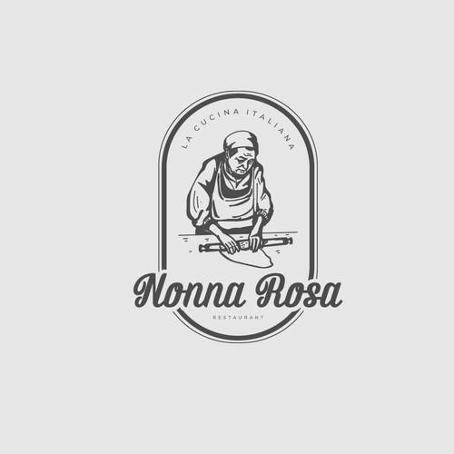 Logo concept for Nonna Rosa