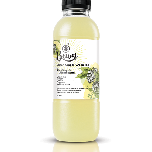 Label Design for Beam Green Tea