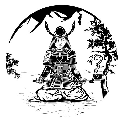 Samurai illustration