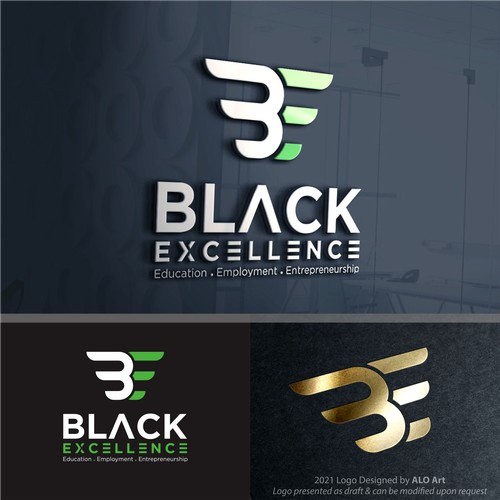 Logo for Black Exellence