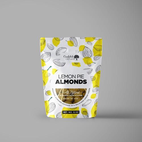 Lemon Pie Almonds Pack