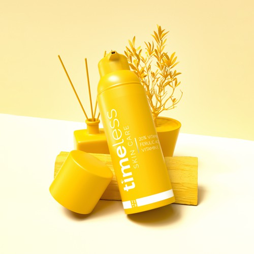 Timeless Vitamin C Product Rendering