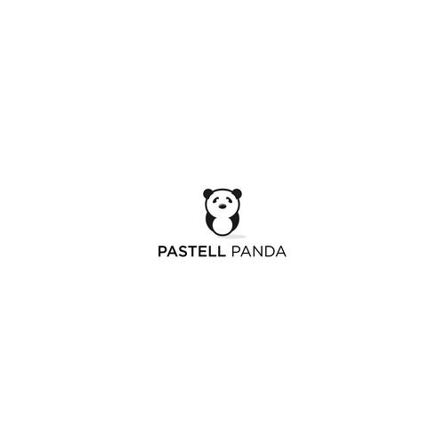 pastell panda