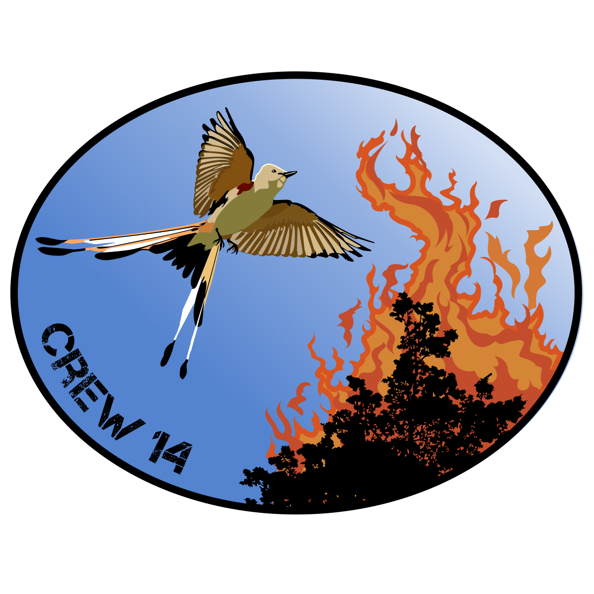 Chloeta's Crew 14 Logo Touchup