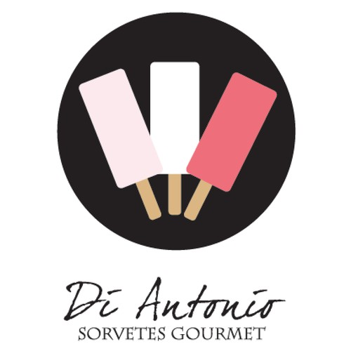 Logo concept for gourmet ice-cream brand