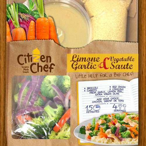 Citizen Chef Soon Entering Whole Foods Needs a New Packaging Design
