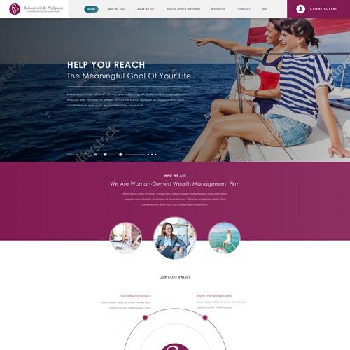 Homepage for Robasciotti
