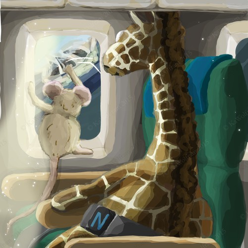 draft for children's book illustration
