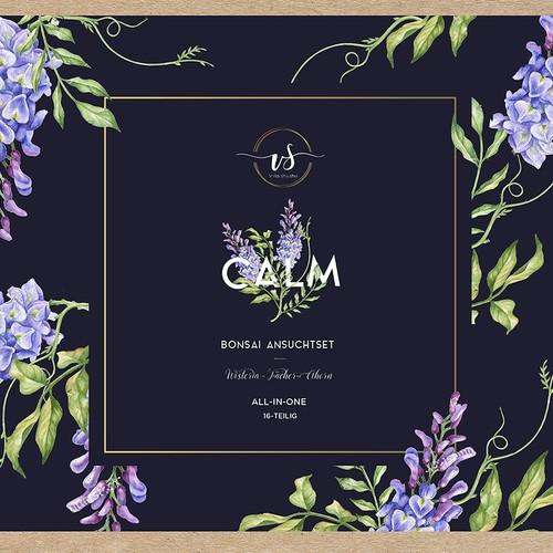 label for botanical packaging